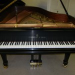 restoration project of steinway and sons piano