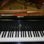 steinway and sons piano after restoration