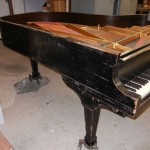 grand piano restoration project