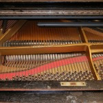 piano strings damaged before restoration